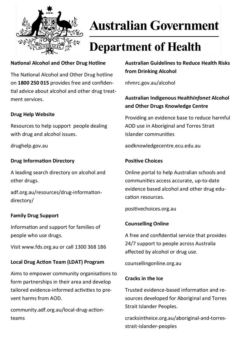 Australian Government - Department of Health
